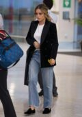 Rita Ora leaving after appearing on TV show 'The Project' in Melbourne, Australia