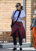 Rita Ora spotted while shopping at a vintage clothing shop in Melbourne, Australia