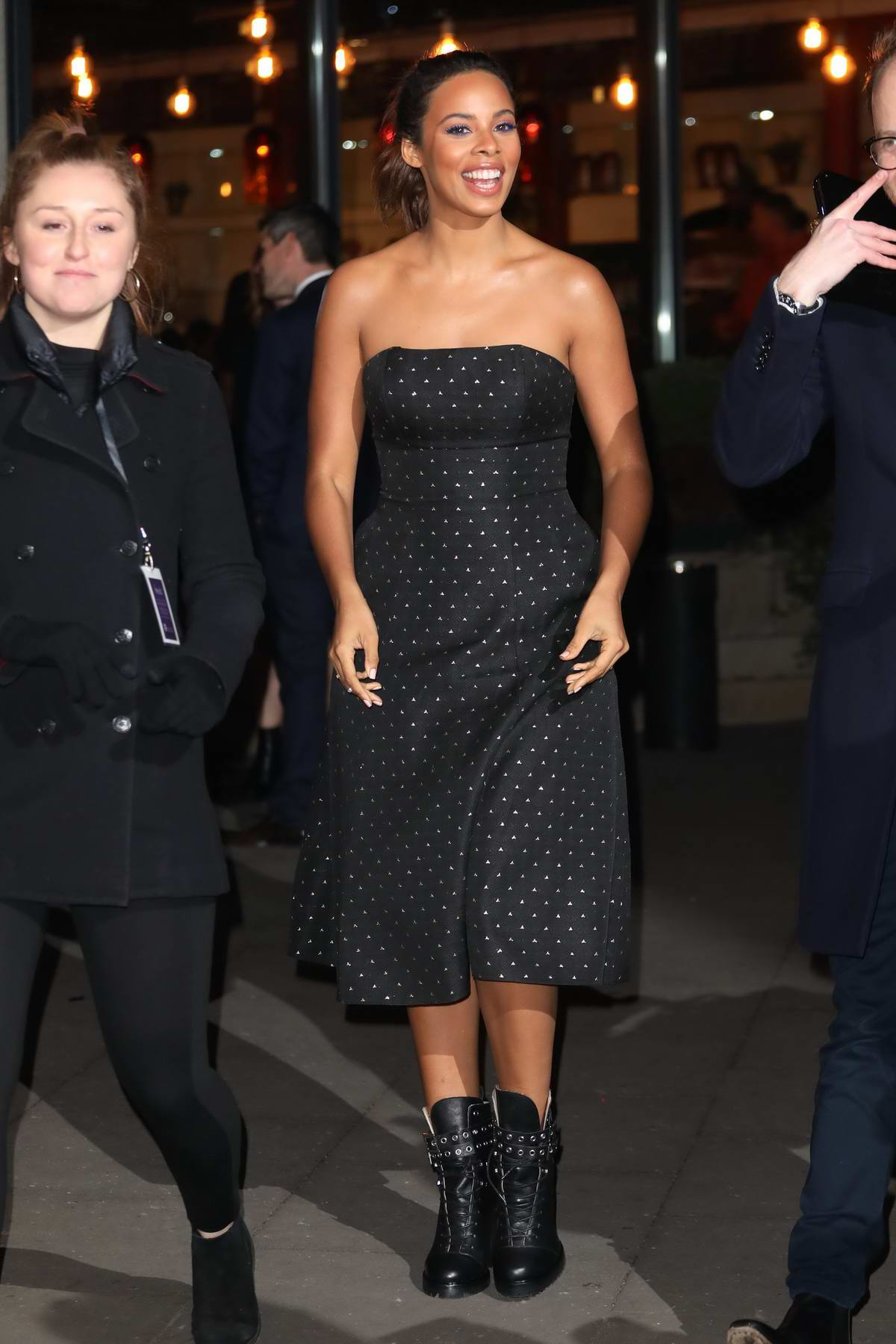 Rochelle Humes at the British Academy Children's Awards in London