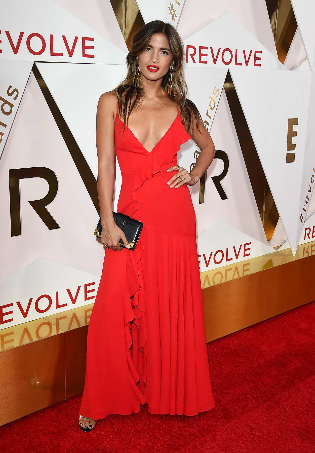 Rocky Barnes at the REVOLVE Awards in Los Angeles