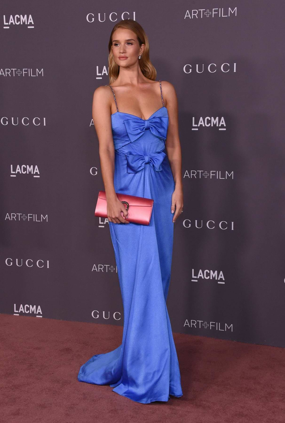 Rosie Huntington-Whiteley at the LACMA Art and Film gala in Los Angeles