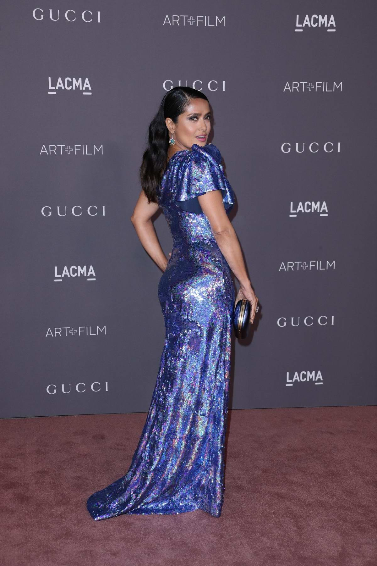 Salma Hayek at the LACMA Art and Film gala in Los Angeles