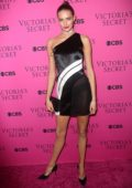 Sanne Vloet at the Victoria's Secret Fashion Show viewing party in New York