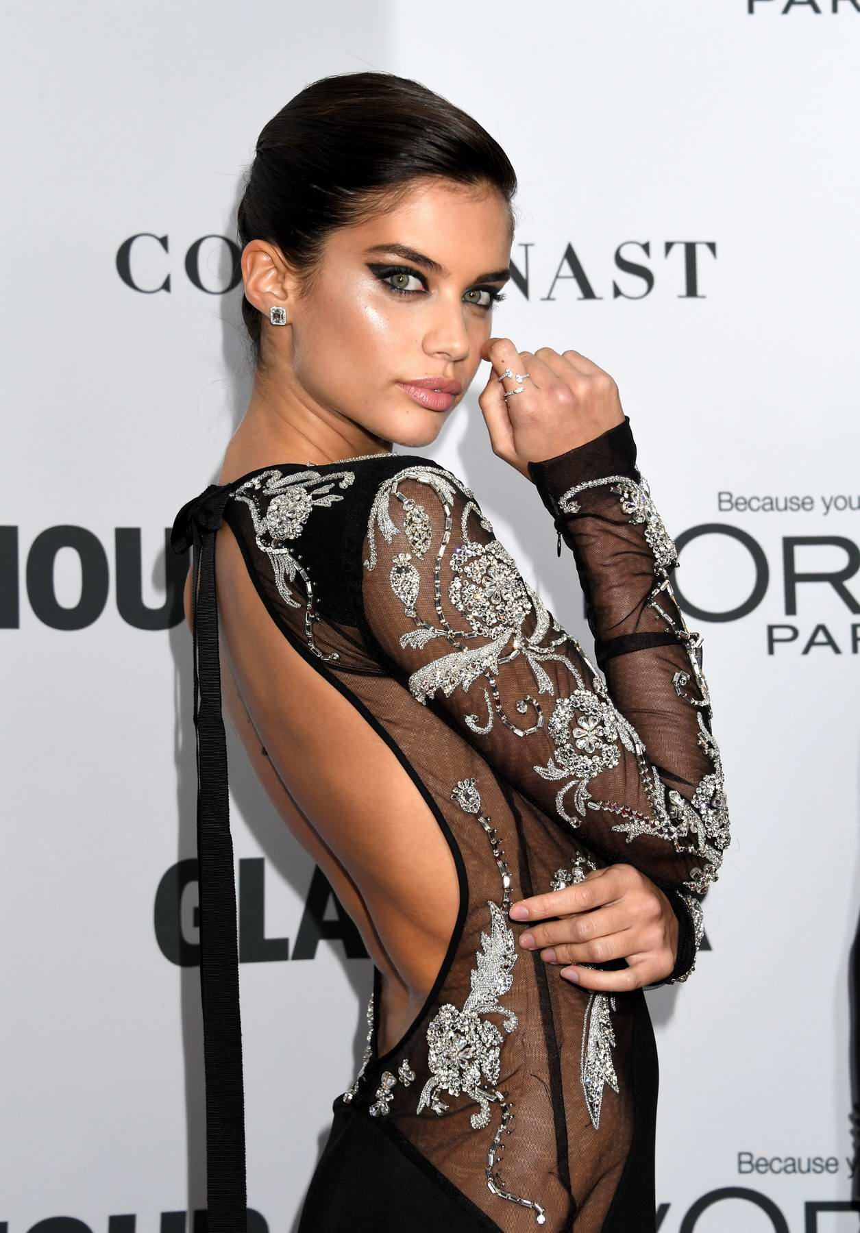 Sara Sampaio at the Glamour Women Of The Year Awards in New York