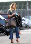 Sasha Pieterse heading into the Dancing With The Stars studio in Los Angeles
