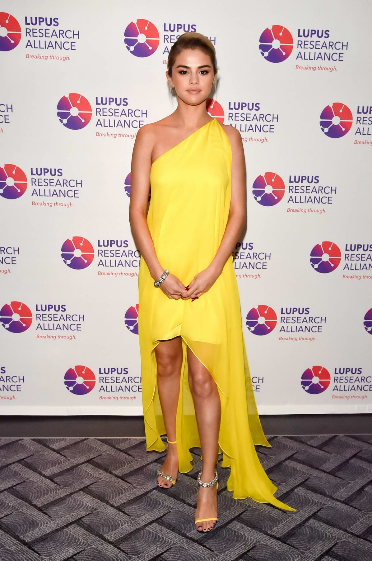 Selena Gomez attends the Lupus Research Alliance 'Breaking Through Lupus Gala' in New York