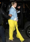 Selena Gomez steps out with blonde hair in New York City