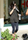 Selena Gomez works up a sweat at her Pilates class in Los Angeles