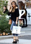 Sofia Vergara stops by Le Mervetty bakery in Beverly Hills, Los Angeles