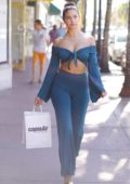 Tao Wickrath spotted while shopping at Trendy Capsula store on Miami beach, Florida