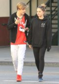 Thylane Blondeau enjoys a day out with her boyfriend in Los Angeles