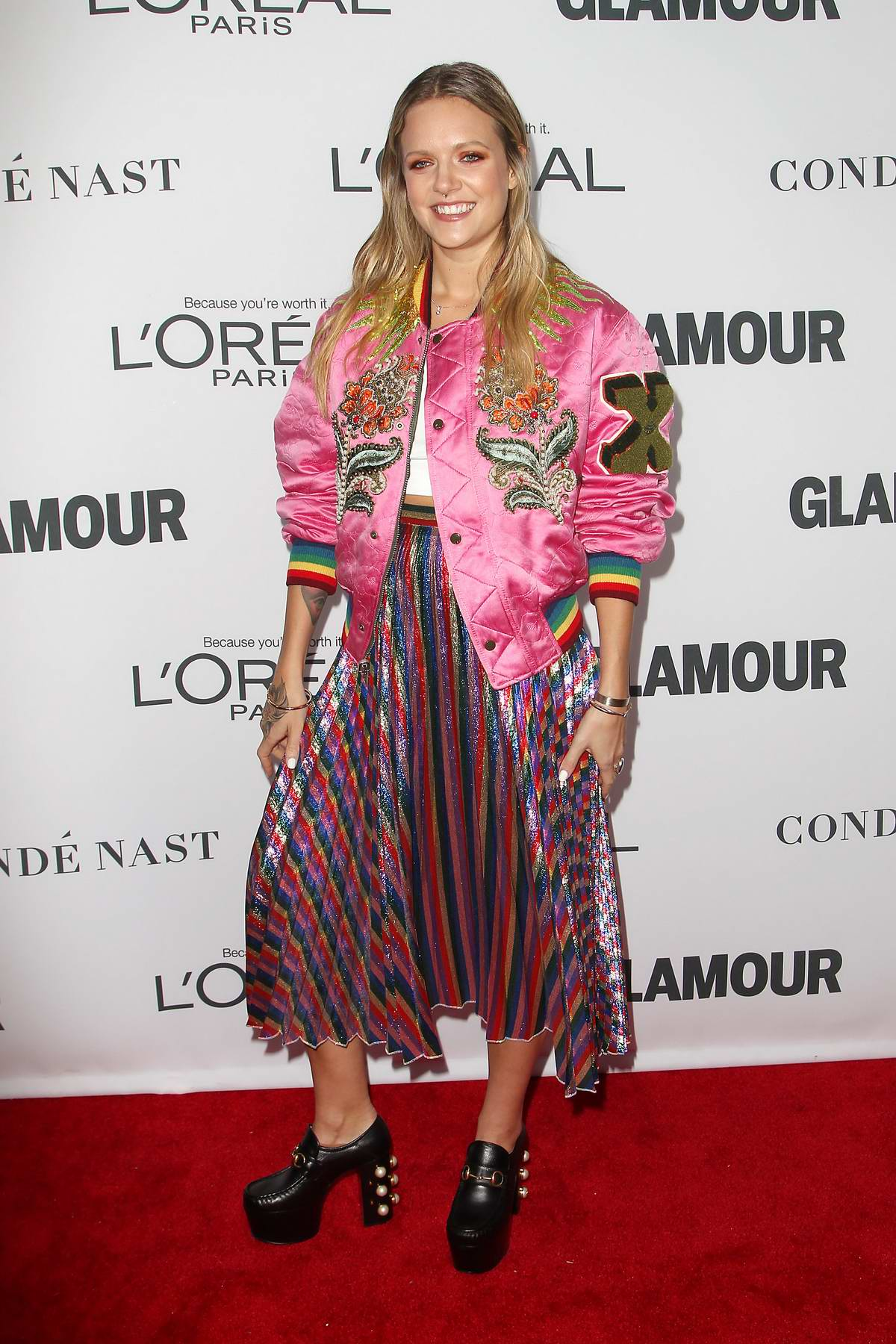 Tove Lo at at the Glamour Women Of The Year Awards in New York