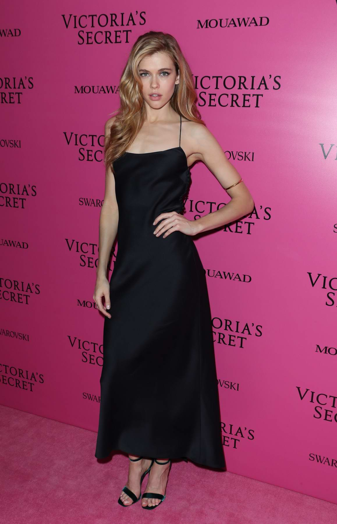 Victoria Lee at the Victoria's Secret fashion show, pink carpet and after party at Expo Center in Shanghai, China