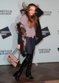 Xenia Tchoumitcheva at the 'Skate at Somerset House' launch party in London