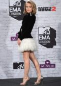 Zara Larsson at the 24th MTV Europe Music Awards held at SSE Arena Wembley in London