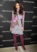 Zendaya Coleman at Bloomingdale's 59th street unveils 'The Greatest Holiday Windows' in New York