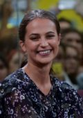 Alicia Vikander at the CCXP Comic Con Experience 2017 in Sao Paulo, Brazil