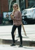 Amanda Seyfried out on a coffee run in Los Angeles