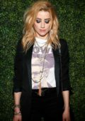 Amber Heard at Alice & Olivia Denim launch party in Los Angeles