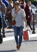Amy Adams dressed casually as she gets some Christmas shopping done at The Grove in Los Angeles