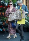 Amy Adams spotted grocery shopping with a friend in West Hollywood, Los Angeles