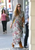Amy Adams spotted outside Kitross kids shop in Los Angeles