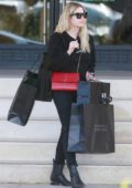 Ashley Benson is spotted out doing some last minute Christmas shopping at Barneys New York in Beverly Hills, Los Angeles