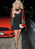 Ashley James at the Style Icon Nat's VIP blog launch in London
