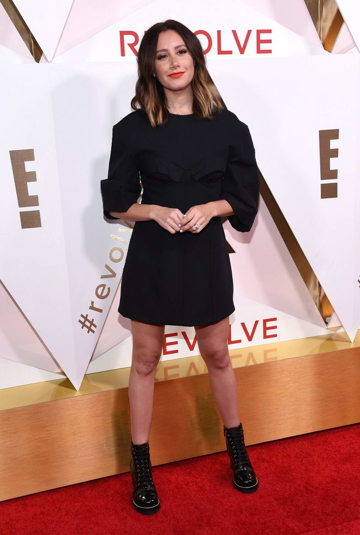 Ashley Tisdale at 2017 Revolve Awards in Los Angeles