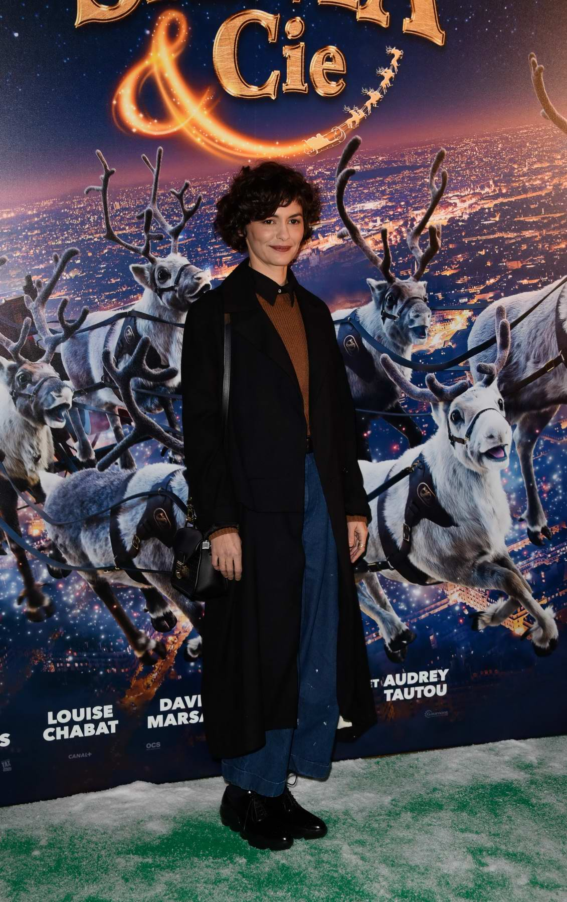 Audrey Tautou at the premiere of 'Santa And Cie' held at Pathe Beaugrenelle in Paris, France