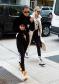 Bella and Gigi Hadid out for shopping in New York City