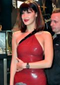 Bella Hadid at Tag Heuer flagship store opening on Oxford Street in London