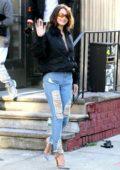 Bella Hadid leaves ACME Studio following a photoshoot in Brooklyn, New York City