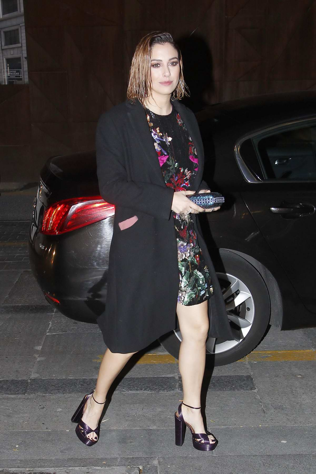 Blanca Suarez attends Harper's Bazaar party in Madrid, Spain