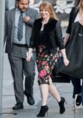 Bryce Dallas Howard spotted arriving at 'Jimmy Kimmel Live' in Los Angeles