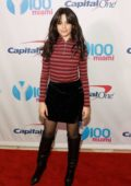 Camila Cabello at Y100 Jingle Ball at the BB&T Center in Sunrise, Florida
