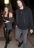 Chantel Jeffries spotted while leaving Delilah with a mystery man in West Hollywood, Los Angeles