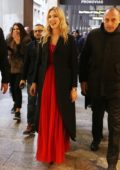 Chiara Ferragni make an appearance at the Swarovski store in Milan, Italy