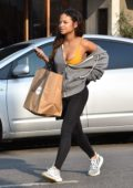 Christina Milian enjoys the day out Christmas shopping in Studio City, Los Angeles