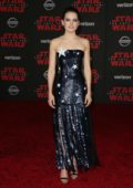 Daisy Ridley at the World premiere for 'Star Wars: The Last Jedi' at the Shrine Auditorium in Los Angeles