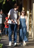 Dakota Fanning and her boyfriend enjoy a day out together in Los Angeles