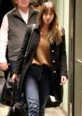 Dakota Johnson spotted at the airport as she arrives in Aspen, Colorado