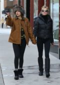 Dakota Johnson spotted out with her mom Melanie Griffith in Aspen, Colorado