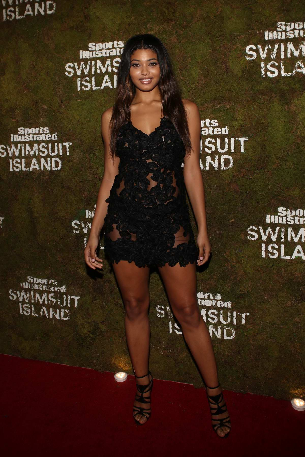 Danielle Herrington at Sports Illustrated Swimsuit Island at the W Hotel in Miami, Florida