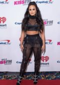 Demi Lovato at 103.5 Kiss FM's Jingle Ball 2017 in New York City