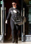 Demi Lovato does some last minute Christmas shopping at Barneys New York in Beverly Hills, Los Angeles