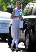 Eiza Gonzalez makes a visits to a friend's place in Studio City, Los Angeles