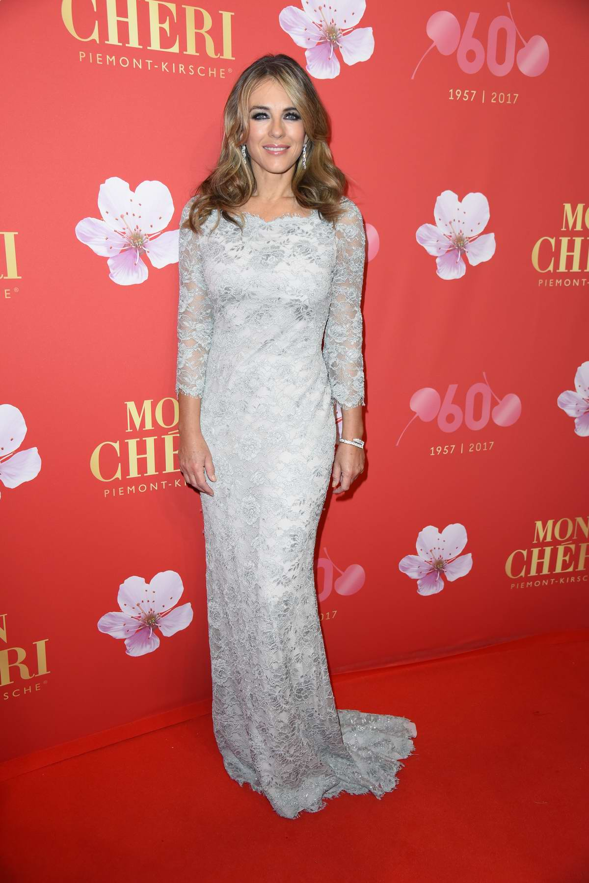 Elizabeth Hurley at Mon Cheri Barbaratag at Postpalast in Munich, Germany