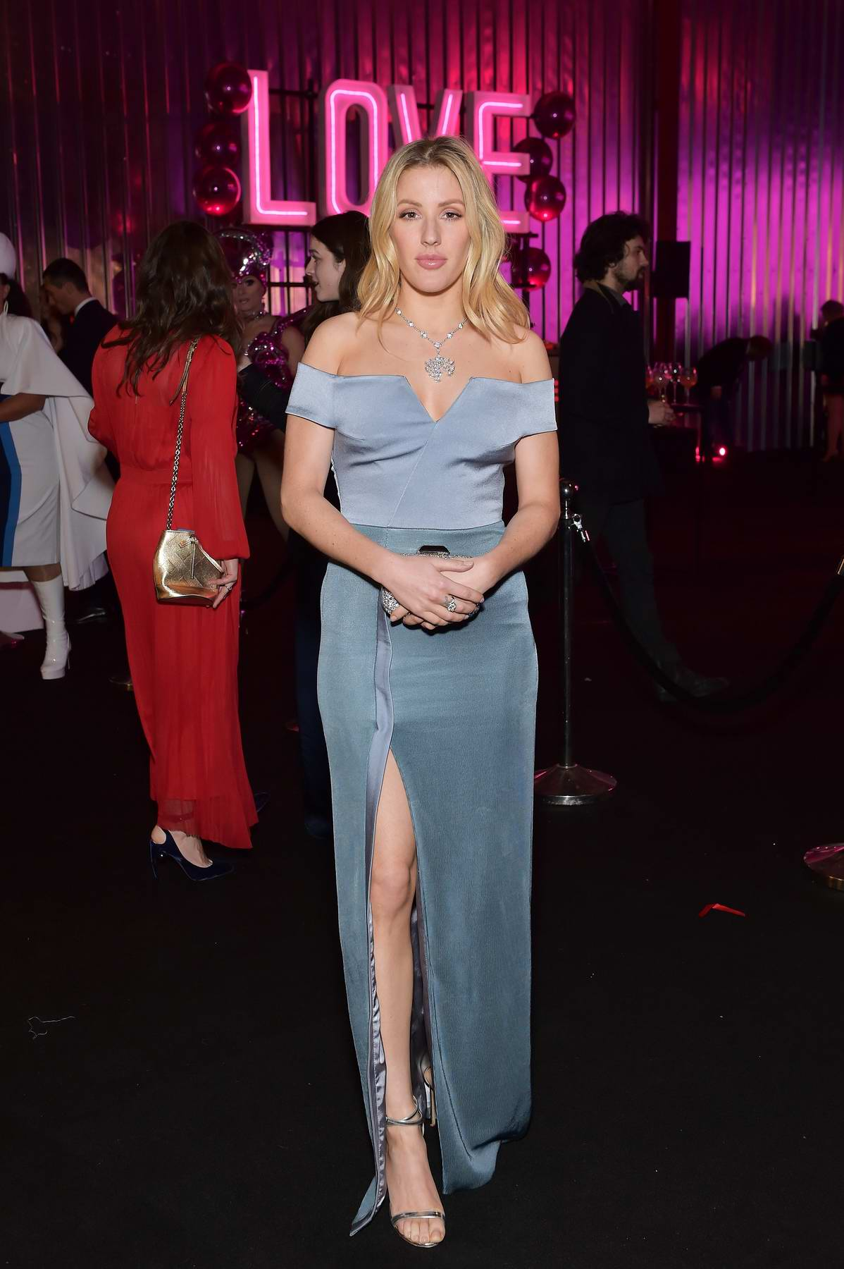 Ellie Goulding at CLUB LOVE in benefit of Elton John AIDS foundation in association with BVLGARI in London