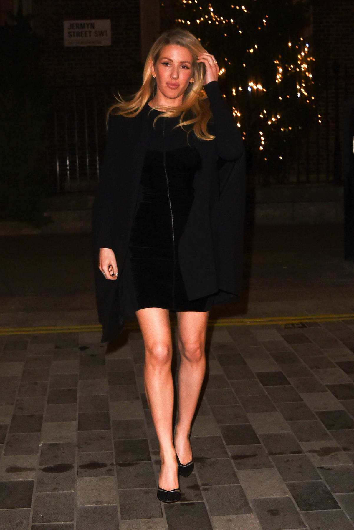 Ellie Goulding attends Fayre of St James Christmas Carol Concert and after-party in London